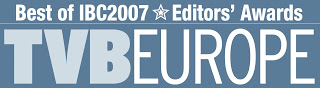 TVBEurope best of show 2007 logo