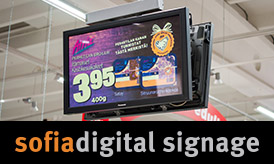 Sofia Digital Signage