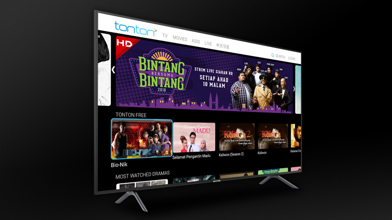 tonton Smart TV application
