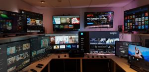 The receiver laboratory is Sofia Digital's core testing asset with over 70 different television models from all major TV manufacturers