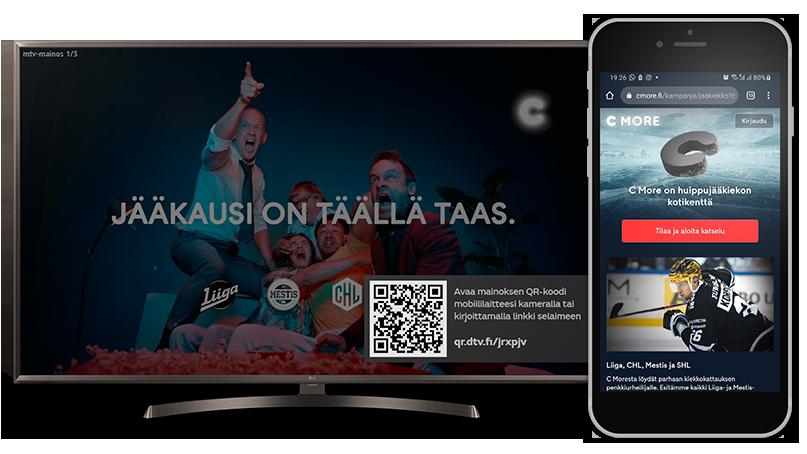 MTV and Sofia Digital make linear digital video ads interactive on Smart TV